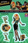 DC Bombshells Black Canary Previews Exclusive Vinyl Decal