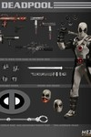 One-12 Collective Previews Exclusive Deadpool Action Figure (X-Force Version)