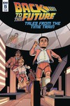 Back to the Future Time Train #5 (Cover A - Levens)