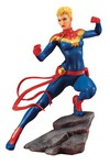 Marvel Comics Avengers Series Captain Marvel Artfx+ Statue