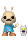 Pop TV: Rocko's Modern Life - Rocko and Spunky Vinyl Figures