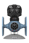 Pop Deluxe Star Wars TIE Pilot With TIE Fighter Vinyl Figure