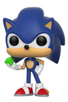 Pop Games: Sonic the Hedgehog - Sonic with Emerald Vinyl Figure