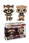 Pop Marvel Games: Guardians of the Galaxy The Telltale - Rocket & Lylla 2-Pack