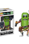 Pop Animation Rick & Morty - Pickle Rick w/ Laser Vinyl Figure