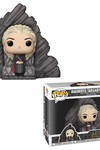 Pop Deluxe Game Of Thrones Daenerys On Dragonstone Throne Vinyl Figure