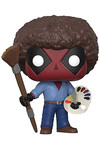 Pop Marvel: Deadpool Playtime - Deadpool Bob Ross Vinyl Figure