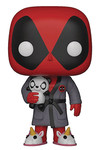 Pop Marvel: Deadpool Playtime - Deadpool in Robe Vinyl Figure