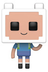 Pop Television Adventure Time/Minecraft Finn Vinyl Figure