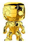 Pop Marvel: MS 10 - Iron Man (Chrome)