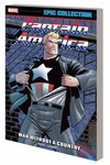 Captain America Epic Coll TPB Man Without a Country