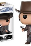 Pop Westworld Teddy Flood Vinyl Figure