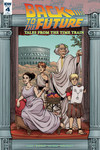 Back to the Future Time Train #4 (Retailer 10 Copy Incentive Variant)