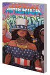 America TPB Vol. 01 Queen A Direct Market Variant Cover