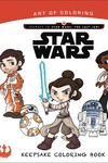 Art of Coloring Journey To Star Wars Last Jedi Keepsake SC (