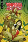 Red Sonja Vampirella #1 (Cover B - Tedesco)