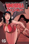 Red Sonja Vampirella #1 (Cover E - Moss Then Now)