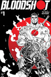 Bloodshot #1 (Cover D - B&W & Red Meyers)