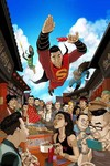 New Super-Man #2 (Chang Variant Cover Edition)