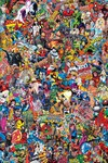 Marvel Comics #1000 (Garcin Collage Variant)