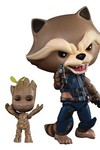 Guardians of the Galaxy 2 EAA-049 Rocket W/ Kid Groot PX Action Figure