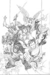 Justice League #1 (Cheung Pencils Only Variant)