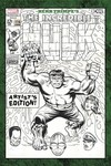 Herb Trimpe's The Incredible Hulk Artist's Edition 54