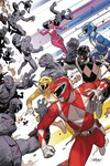 Go Go Power Rangers #1 (Retailer 50 Copy Incentive Variant Cover Edition)