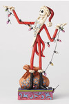Disney Traditions Nightmare Before Christmas Santa Jack Christmas Lights Figure