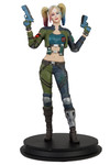DC Injustice Harley Quinn Green Costume Previews Exclusive Deluxe Statue