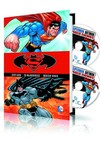 Superman Batman Vol. 1 HC Book & DVD Blu Ray Set