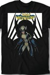 Marvel All New Wolverine #8 Blk T-Shirt LG