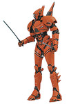 Pacific Rim 2 Select Action Figure - Saber Athena