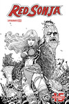 Red Sonja #1 (25 copy B & W Variant)