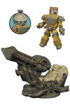 Aliens Minimates Deluxe Space Jockey Set