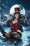 Grimm Fairy Tales Van Helsing vs the Werewolf #6 (Cover C - Burns)