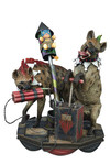 DC Super Powers Coll Hyenas Bud & Lou Maquette