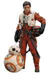 Star Wars E7 Poe Dameron & BB-8 AArtFx+ Statue 2-Pack