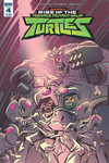 Rise of the Teenage Mutant Ninja Turtles #4 Suriano Cover