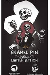 Hellboy Skeleton Head Limited Edition Enamel Pin
