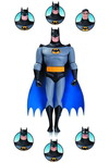 Batman Animated Series/New Batman Adventures Batman Expressions Pack