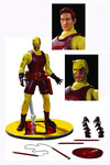 One-12 Collective Previews Exclusive Yellow Daredevil Action Figure