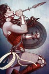 15. Wonder Woman #59 (Frison Variant)
