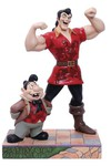 Disney Beauty & the Beast Gaston and Lefou 8.66in Figure