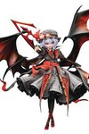 Touhou Project - Remilia Scarlet Legend of Komajo 1/8 Scale PVC Figure (Color Version)