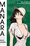 Manara Library Volume 4 HC: Adventures of Guiseppe Bergman
