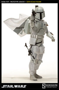 Star Wars Boba Fett Prototype Armor Scum and Villainy 1/6 Scale Figure