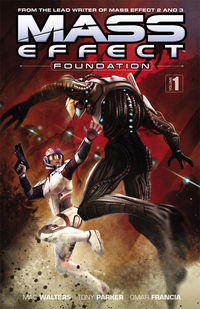 Mass Effect: Foundation Volume 1 TPB - nick & dent