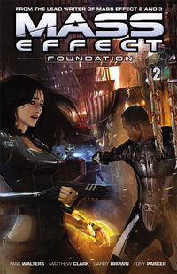 Mass Effect: Foundation Volume 2 TPB - nick & dent