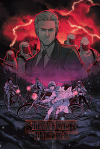 Stranger Things #1 (TFAW Exclusive Babs Tarr Variant Cover)